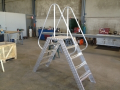 Aluminum access ladder : Aluminum access ladder $650